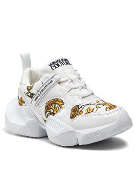 Versace Jeans Couture Versace Jeans Couture Sneakersy 71VA3SU7 Biela