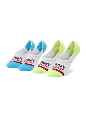 Tommy Jeans Tommy Jeans Sada 2 párů kotníkových ponožek unisex 100000403 Bílá