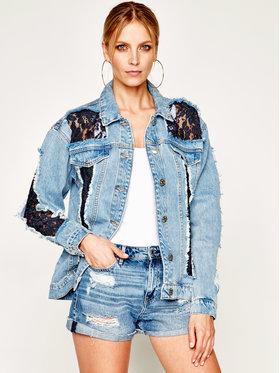 My Twin My Twin Kurtka jeansowa 201MT2240 Niebieski Regular Fit