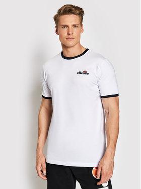 Ellesse Ellesse Marškinėliai Meduno SHI10164 Balta Regular Fit