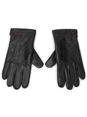 Strellson Strellson Pánské rukavice 3903 Černá