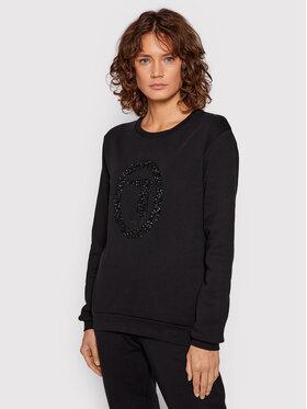 Trussardi Trussardi Sweatshirt 56F00169 Schwarz Regular Fit