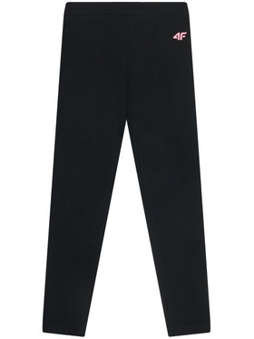 4F 4F Leggings JLEG001 Noir Slim Fit