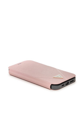 Guess Guess Étui téléphone portable GUFLBKP12LVSATMLPI Rose