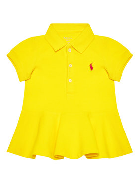 Lauren Ralph Lauren Lauren Ralph Lauren Každodenné šaty Polo 310800694007 Žltá Regular Fit