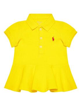 Lauren Ralph Lauren Lauren Ralph Lauren Φόρεμα καθημερινό Polo 310800694007 Κίτρινο Regular Fit