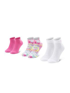 Polo Ralph Lauren Polo Ralph Lauren Sada 3 párů dámských vysokých ponožek 455838483001 OS Růžová