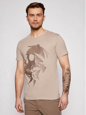 Jack&Jones Jack&Jones Marškinėliai Almin 12185102 Smėlio Regular Fit