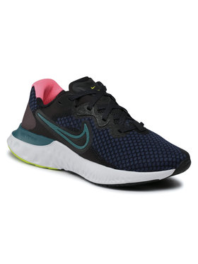 Nike Nike Buty Renew Run 2 CU3505 004 Granatowy