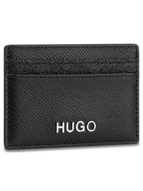 Hugo Hugo Bankkártya tartó Victoria Cardh-Gl 50424208 10188022 01 Fekete