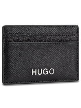 Hugo Hugo Kreditinių kortelių dėklas Victoria Cardh-Gl 50424208 10188022 01 Juoda