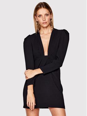 IRO IRO Koktejlové šaty Robiela WM33 Čierna Slim Fit
