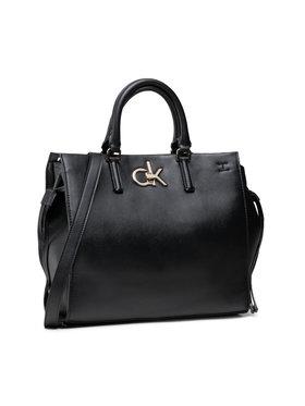 Calvin Klein Calvin Klein Kabelka Tote Md K60K608285 Čierna