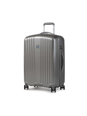 Dielle Dielle Közepes keményfedelű bőrönd 120/60 Szürke