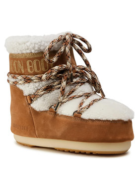 Moon Boot Moon Boot Μπότες Χιονιού Mars Shearling 14400900001 Καφέ