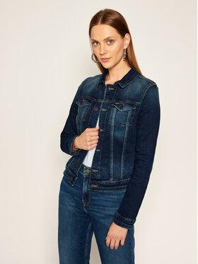 Tommy Jeans Tommy Jeans Geacă de blugi Vivianne Trucker DW0DW08417 Bleumarin Slim Fit