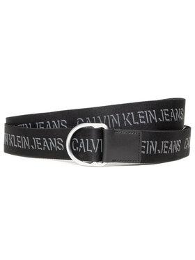 Calvin Klein Jeans Calvin Klein Jeans Dámsky opasok Slider D-Ring Webbing Belt 38Mm K50K507245 Čierna