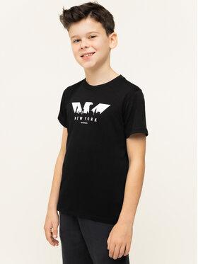 Emporio Armani Emporio Armani T-shirt 6G4TA7 1J00Z 0999 Nero Regular Fit