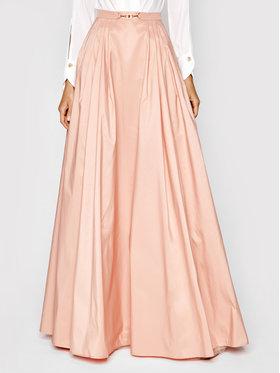 Elisabetta Franchi Elisabetta Franchi Maxi suknja GO-482-13E2-V480 Ružičasta Regular Fit