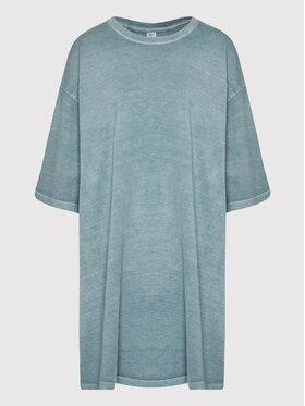 Reebok Reebok Každodenné šaty Classics Natural Dye H13282 Zelená Oversize