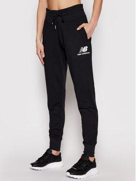 New Balance New Balance Teplákové kalhoty Esse NBWP03530 Černá Regular Fit
