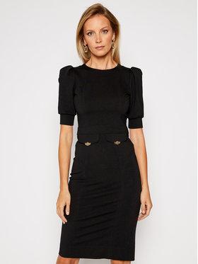 Versace Jeans Couture Versace Jeans Couture Koktejlové šaty D2HZB420 Černá Slim Fit