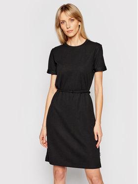 Calvin Klein Calvin Klein Každodenné šaty K20K203021 Čierna Regular Fit