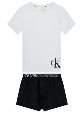Calvin Klein Underwear Calvin Klein Underwear Piżama Woven Pj B70B700333 Biały
