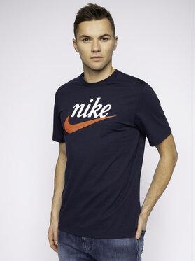 Nike Nike Marškinėliai Heritage BV7678 Tamsiai mėlyna Standard Fit