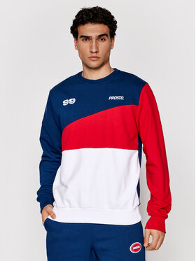 PROSTO. PROSTO. Bluză KLASYK Crewneck Ademo 1011 Colorat Regular Fit