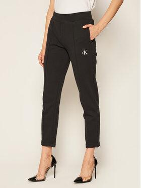 Calvin Klein Jeans Calvin Klein Jeans Teplákové nohavice Back Logo J20J214178 Čierna Regular Fit