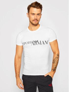 Emporio Armani Underwear Emporio Armani Underwear Тишърт 111035 0A516 00010 Бял Slim Fit
