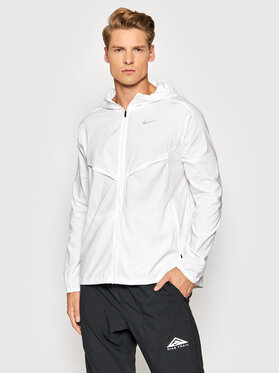 Nike Nike Яке за джогинг Windrunner CZ9070 Бял Standard Fit