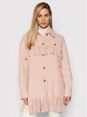 Pinko Pinko Zimní kabát Fiambala 1G16S1 Y7E3 Růžová Regular Fit