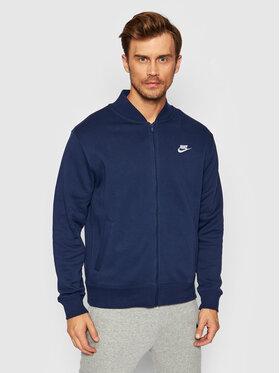 Nike Nike Mikina Sportswear Club BV2686 Tmavomodrá Standard Fit