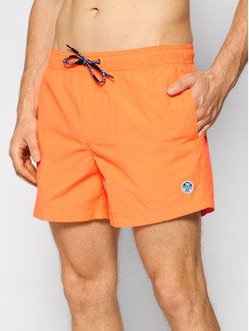 North Sails North Sails Pantaloncini da bagno Volley 673430 Arancione Regular Fit