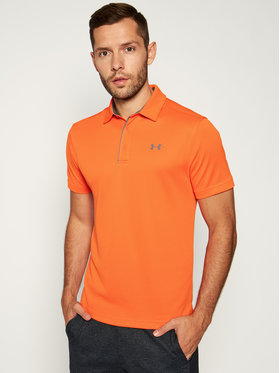 Under Armour Under Armour Technisches T-Shirt Tech Polo 1290140 Orange Regular Fit
