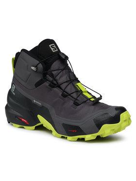 Salomon Salomon Παπούτσια πεζοπορίας Cross Hike Mid Gtx GORE-TEX 411186 26 G0 Γκρι