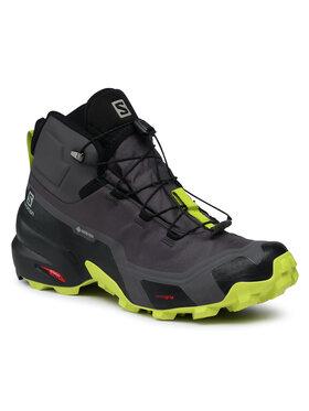 Salomon Salomon Trekingová obuv Cross Hike Mid Gtx GORE-TEX 411186 26 G0 Šedá