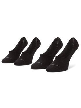 Calvin Klein Calvin Klein Sada 2 párů pánských ponožek 100001807 Černá