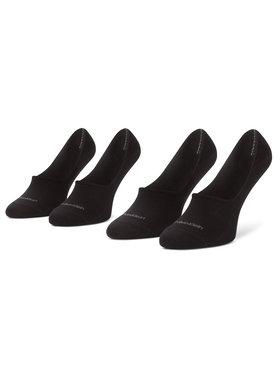Calvin Klein Calvin Klein Σετ κάλτσες σοσόνια ανδρικές 2 τεμαχίων 100001807 Μαύρο