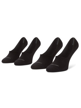 Calvin Klein Calvin Klein Súprava 2 párov krátkych pánskych ponožiek 100001807 Čierna