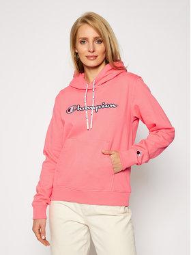 Champion Champion Bluza 113185 Różowy Regular Fit
