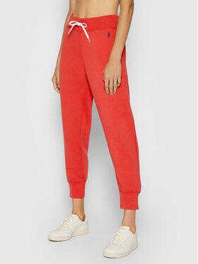 Polo Ralph Lauren Polo Ralph Lauren Spodnie dresowe 211794397018 Czerwony Regular Fit