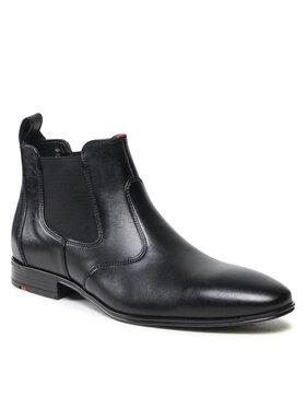 Lloyd Lloyd Členková obuv s elastickým prvkom Pilot 21-643-11 Čierna