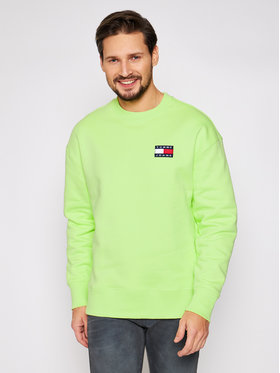 Tommy Jeans Tommy Jeans Mikina Tjm Badge Crew DM0DM06592 Žltá Regular Fit