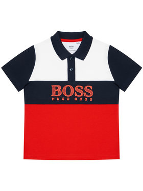 Boss Boss Tricou polo J25L25 M Roșu Slim Fit