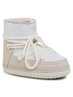 Inuikii Inuikii Chaussures Boot Full Leather 70101-009 Blanc