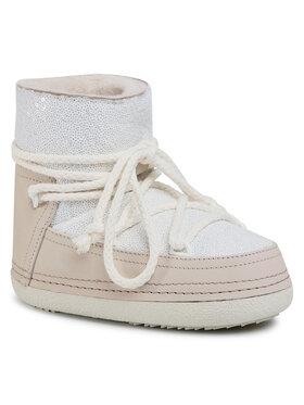 Inuikii Inuikii Topánky Boot Full Leather 70101-009 Biela