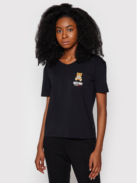 MOSCHINO Underwear & Swim MOSCHINO Underwear & Swim T-shirt 1924 9021 Nero Regular Fit